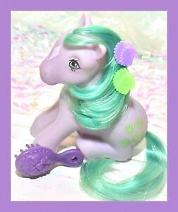 ❤️My Little Pony MLP G1 Vtg 1983 SEASHELL Sea Shell Sitting Pose Earth Diamond❤️