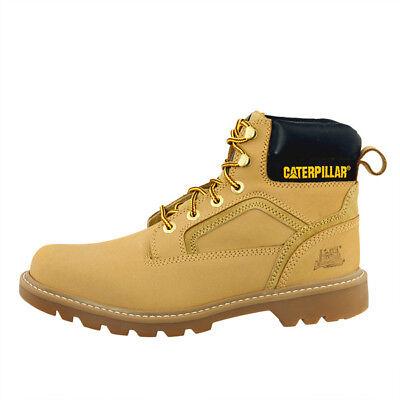 Cat caterpillar stickshift Boots Men señores botas de cuero second Shift colorado | eBay