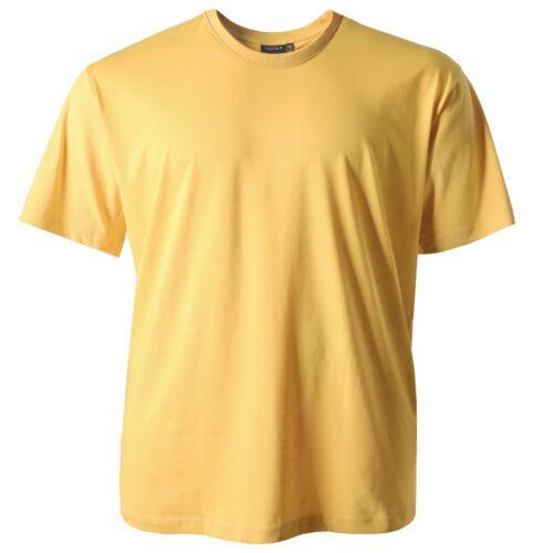 T-shirt homme jaune clair Redfield grande taille