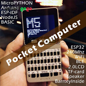 New M5Stack ESP32 Open Source Faces Pocket Computer for