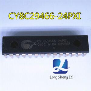 1PCS-CY8C29466-24PXI-IC-MCU-32K-Flash-2K-Sram-28-DIP-8C29466-CY8C29466-Nuevo