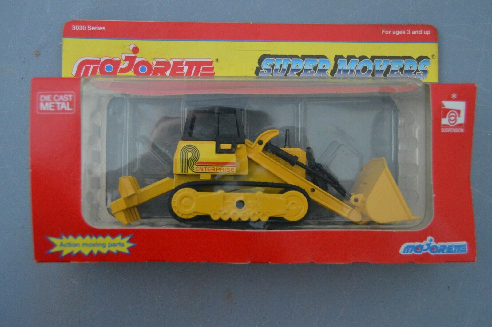 MAJORETTE Super Movers BULLDOZER with Moving Parts  BRAND NEW