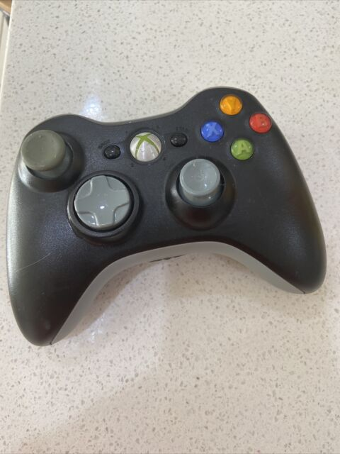 Xbox 360 Genuine Wireless Black/grey Controller