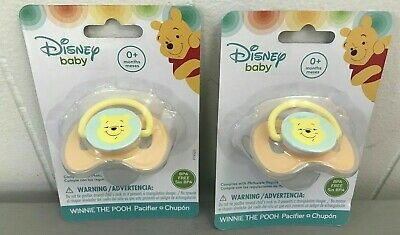 NEW IN PACKAGE! Mos Pink Disney Baby Winnie The Pooh BPA Free Pacifier Ages 0