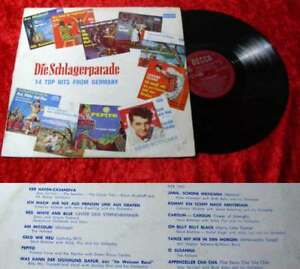 LP-Die-Schlagerparade-14-Top-Hits-from-Germany-Suedafrika-Pressung-60-039-s