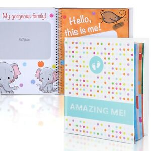 Baby-Book-First-Years-Baby-Memory-Journal-5-Year-Gender-Neutral-Baby-Book