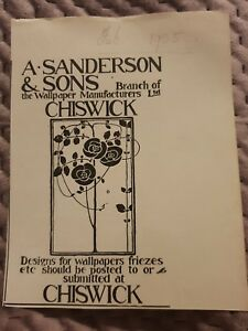 A-Sanderson-amp-Sons-Wallpaper-1905-Advertisement