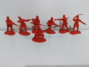 Conte-Zulu-Wars-British-24th-Foot-7-Figures-Action-Poses-Unplayed-1-32-54mm