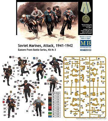 Deskundig Master Box Mb35153 - Fanti Di Marina Sovietici All'attacco 1941-42 (scala 1/35) Professioneel Ontwerp