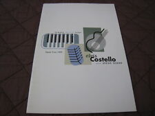 Elvis Costello and Steve Nieve 1999 Japan Tour Concert Program Book Stiff