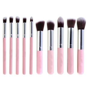 10pcs-Make-Up-Brush-Set-Cosmetic-Brushes-Foundation-Eyebrow-Eyeliner-Face-Brush