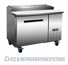 "Sun Ice Commercial 48"" Pizza Prep Refrigerator Cooler Table SUNPT-44"