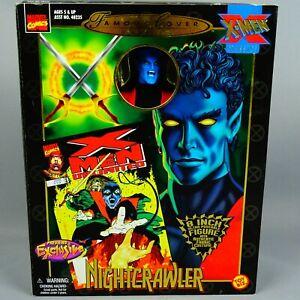 Maravillas-Xmen-famoso-Cubierta-Figura-de-Accion-Nightcrawler-8-pulgadas-Poseable-ToyBiz