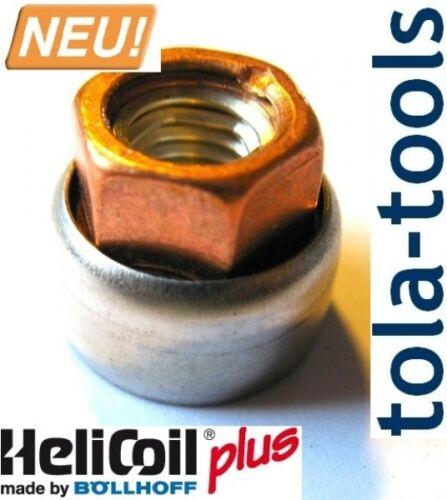 20 Stück Böllhoff Helicoil Spezial Krümmermutter für Abgaskrümmer