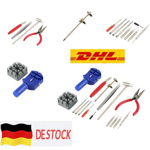 Uhrmacherwerkzeug Uhr Werkzeug Tasche Reparatur Set 16 tlg Uhrwerkzeug @F