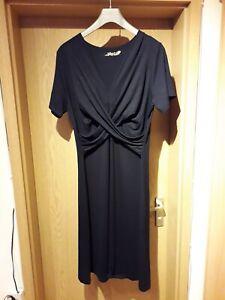 Damen Party-kleid elegant Gr. XXL (= 42/44) dunkelblau NEU ...