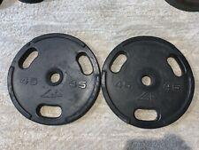 45 lbs York Barbell 29035 Legacy Olympic Standard Plate