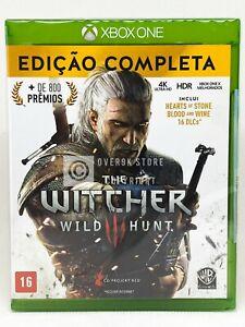 Der-Hexer-III-Wild-Hunt-Complete-Edition-Xbox-One-NEU-portugiesischen-Cover