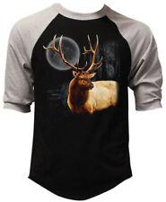 New Wilderness Deer Men/'s Tank Top Black T Shirt Wildlife Animal Hunting Native