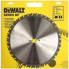 DEWALT DT1821 SERIES 60  350MM CIRCULAR SAW BLADE 350 x 30 36T  FLAT  POS 10°.