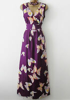 RRP£35 NEW MAXI COTTON BUTTERFLY SUMMER DRESS FESTIVAL CRUISE HOLIDAY 8 10 12 14