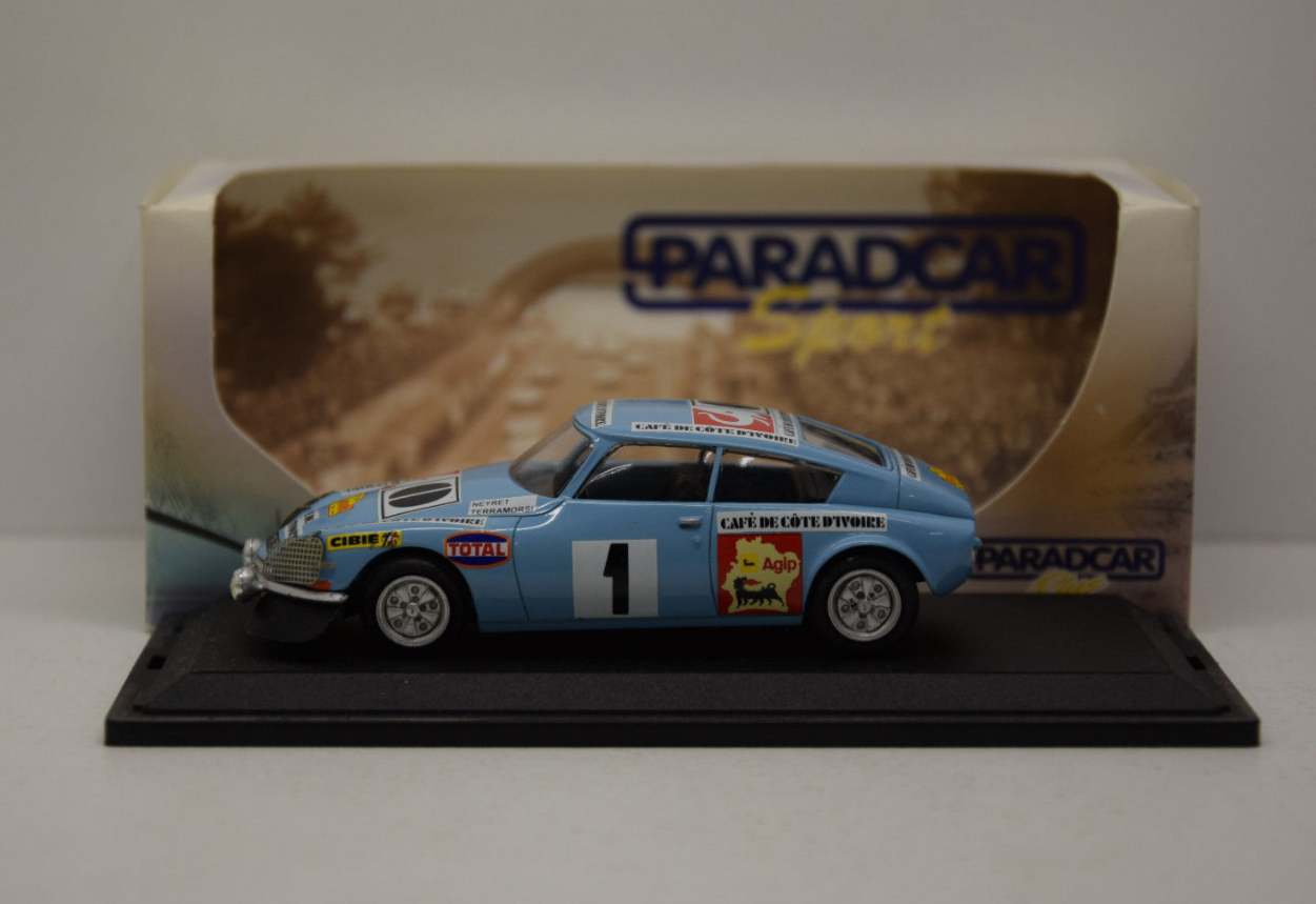 Citroen DS23 Rally Cote d'Ivoire 1972 SP016 Paradcar 1 43