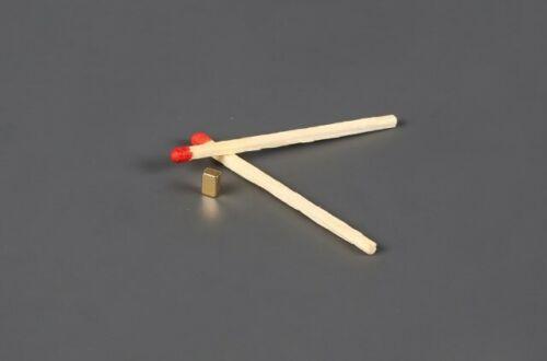 Carbonice strong Heinrich Spoke Magnet 0,2g Gold