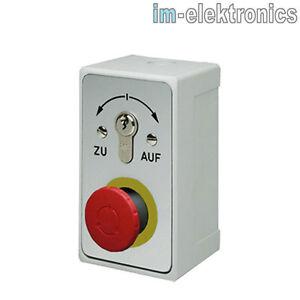 Interruptor-De-Llave-Cajetin-geba-092-13N1-10-Puerta-enrollable-Accionamiento