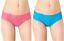 Sloggi WOW Confort Hipster Culotte//Pantalon de pamplemousse rose//Carribean Sea Bleu