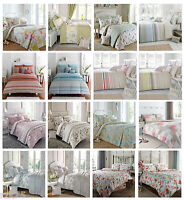 Duvet Cover Set & Pillow Cases, Dreams & Drapes Reversible Bed Linen Quilt Sets