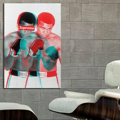 EB020 Supreme Hypebeast Poster Ali Art Canvas