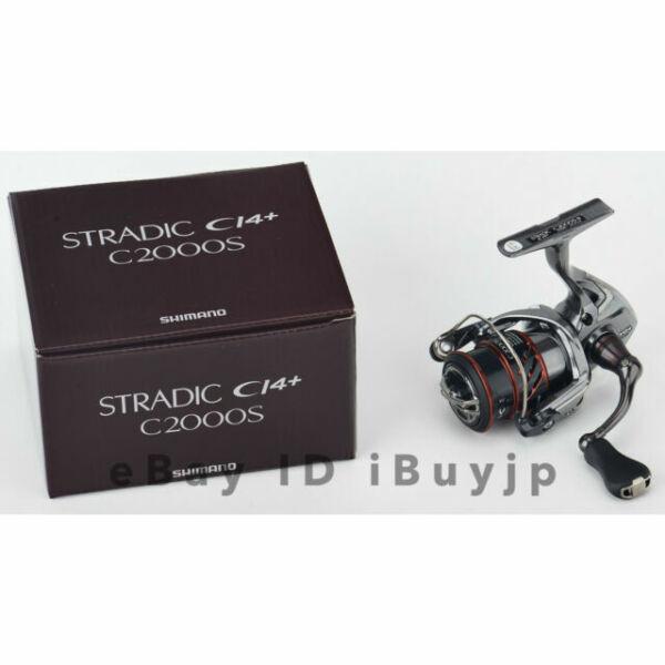 Shimano 16 Stradic CI4 C2000HGS Spinning Reel