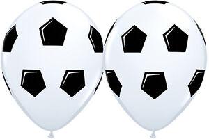 SOCCER-PARTY-SUPPLIES-BALLOONS-10-x-11-034-QUALATEX-NEW-DESIGN-SOCCER-BALL-BALLOONS