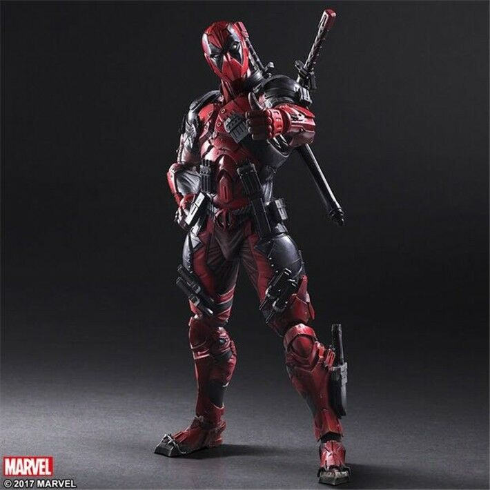 Play Arts Kai PA Deadpool Action Figure Model Doll New Marvel PVC 10  Statue Toy