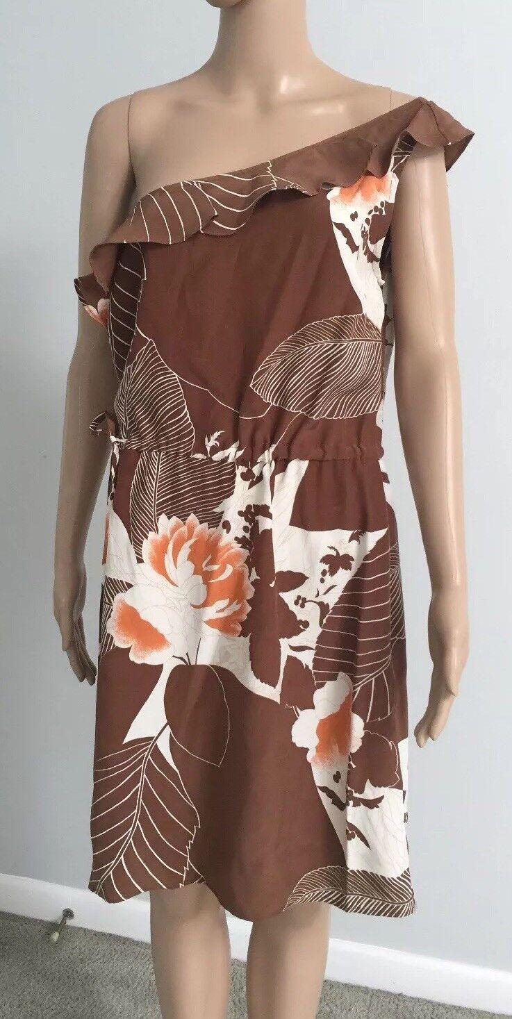 Drew Dress Größe L 100%Sillk NWT