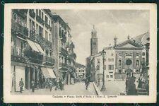 Padova Città Chiesa San Clemente PIEGHINA cartolina QT3894