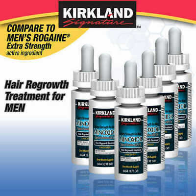 Details about  KIRKLAND MINOXIDIL5% MENS HAIR LOSS REGROWTH EXTRA STRENGTH Exp 01/23