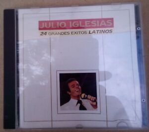 cd musica Julio Iglesias – 24 Grandes Éxitos Latinos