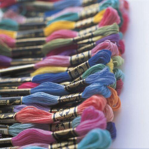 DMC Stranded Cotton Cross Stitch Thread Skein Mouline Colours 48 to 161 8m