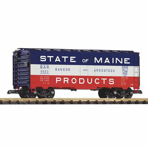 PIKO BAR Boxcar State of Maine 5523 G Gauge 38859