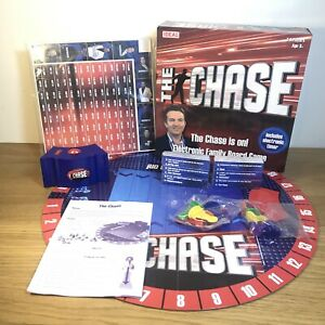 The-Chase-Electronic-Family-Board-Game-Kids-TV-Show-Made-By-Ideal-Complete-NEW