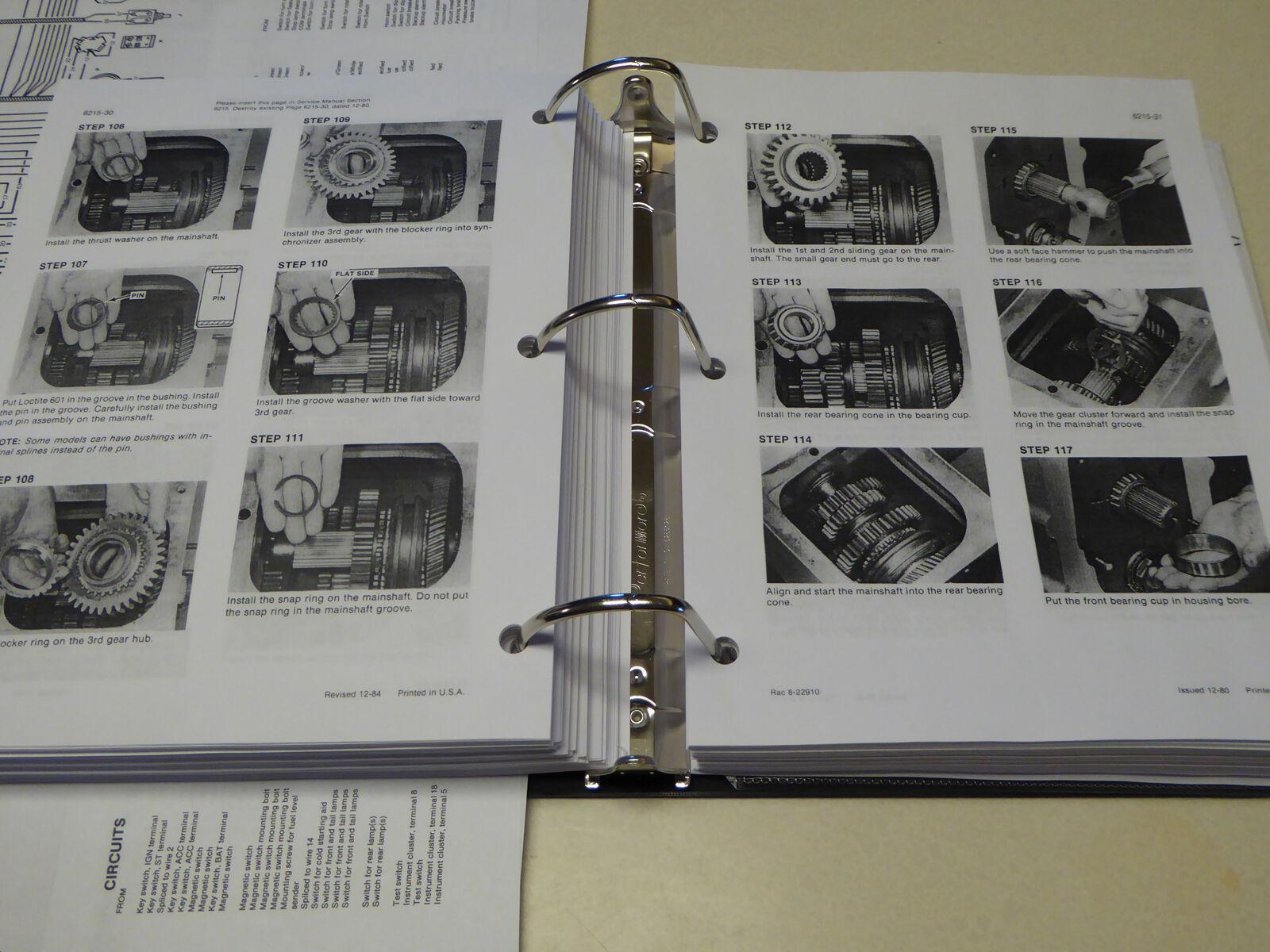 Case 580e 580se 580 Super E Loader Backhoe Service Manual Repair Wiring Diagram Shop Ebay