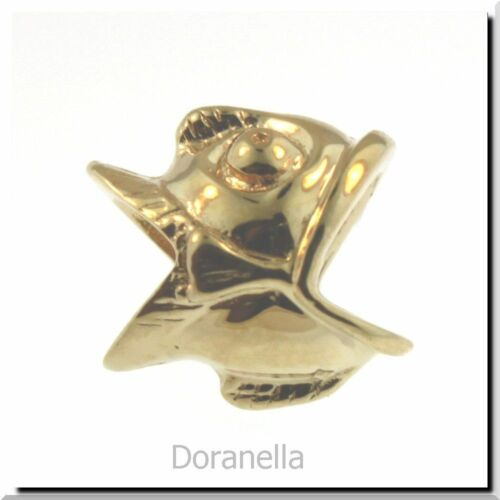 0 RETIRED Gold Authentic TROLLBEADS OR 18K 21126 ni poisson ni oiseau