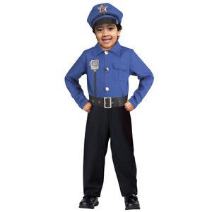 Brand New Cop Officer Policeman Toddler Halloween Costume