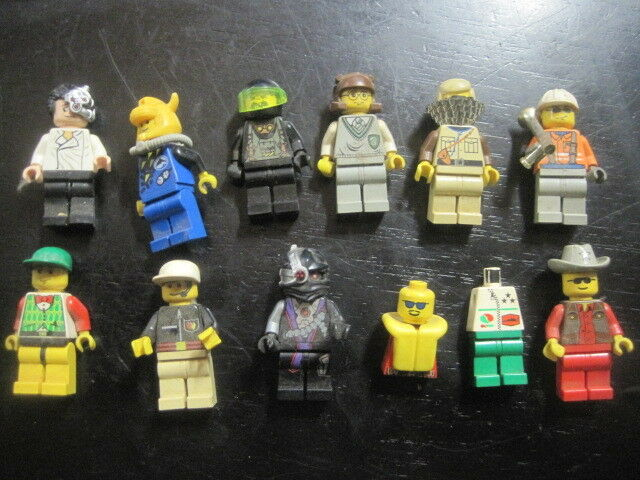 LEGO Lot of 11 Minifigures - PLEASE REVIEW PICS some very rare