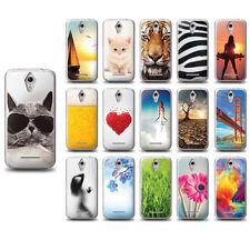 Foto Case Vodafone Smart 4 turbo Schutzhülle Etui Cover+ 2x Schutzfolie