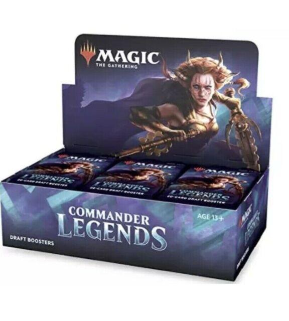 MTG Commander Legends Sealed Booster Box ~(Pre-order)~ Expected Ship 11/20/2020
