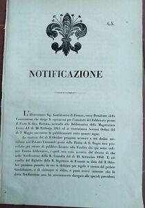 1847-BANDO-SU-GRANDE-VENDITA-DEI-TERRENI-DI-FIRENZE