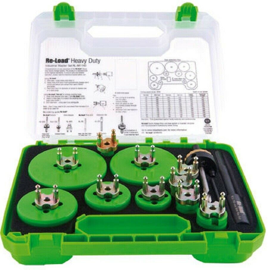 Repelec QUIK CHANGE HOLESAW SET REPRLEM10HD 21-Tools Australian Brand