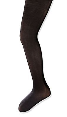 New Capezio Child Nylon Run Proof Footed Tights in Black for Dance Jazz Ballet